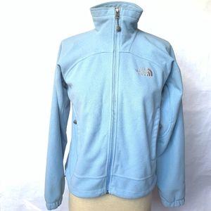 The North Face Blue Windwall Fleece JACKET - XS